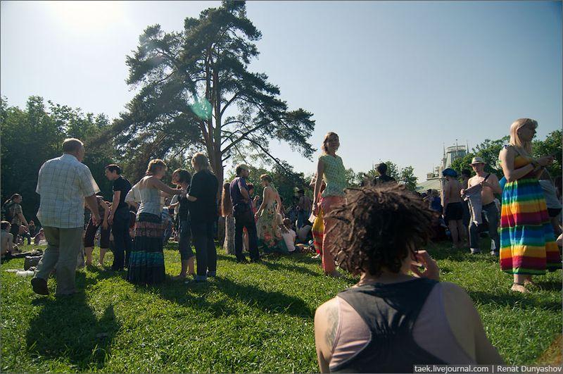 Праздник хиппи в Царицыно! (38 фото)