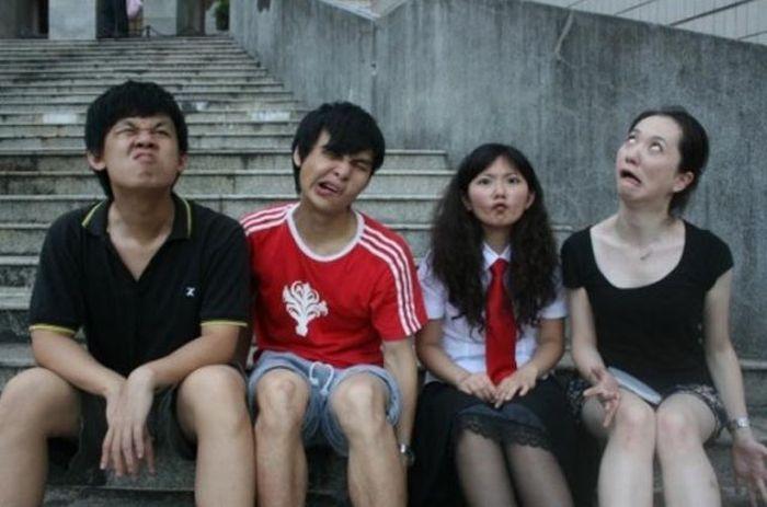 Выпускной у китайцев (14 фото)