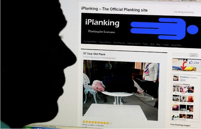 Новая мания - планкинг  (14 фото)