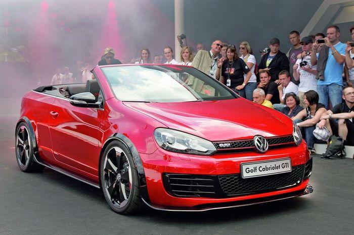 Премьера VW Golf GTI Cabrio (15 фото)
