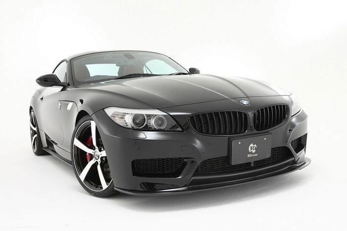 BMW Z4 от ателье 3D Design (14 фото+видео)
