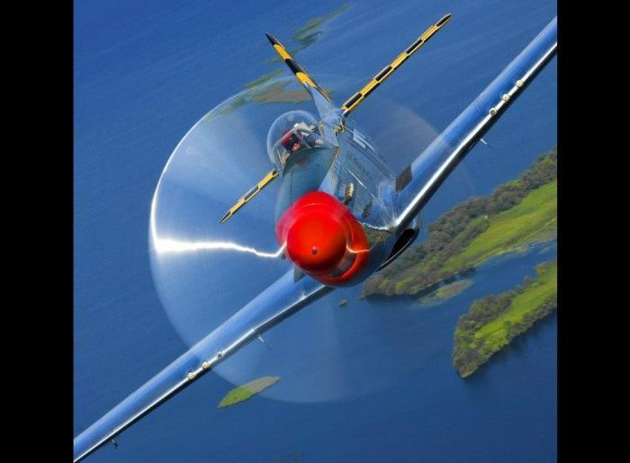 Фотографии самолетов Пола Боуэна (19 Фото)