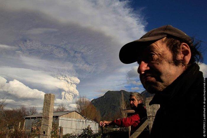 Эйяфьятлайокудль по-чилийски (5 фото)