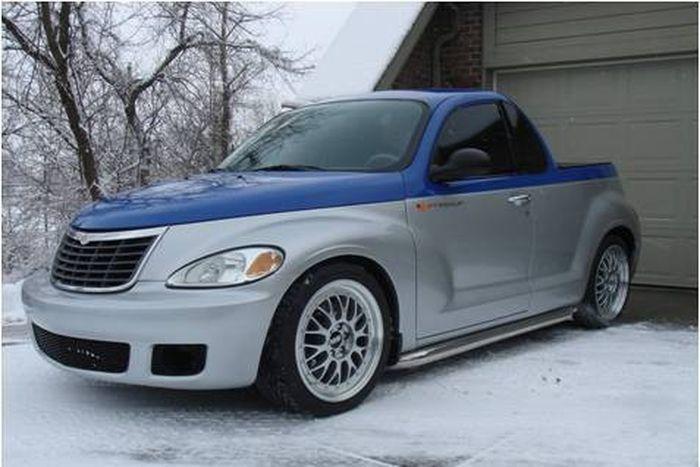 Chrysler PT Cruiser RT/10 pickup (11 фото)
