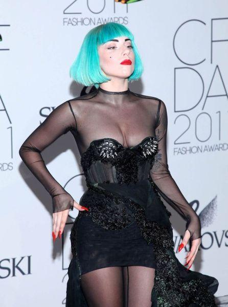Леди Гага порадовала публику откровенным нарядом (8 Фото)