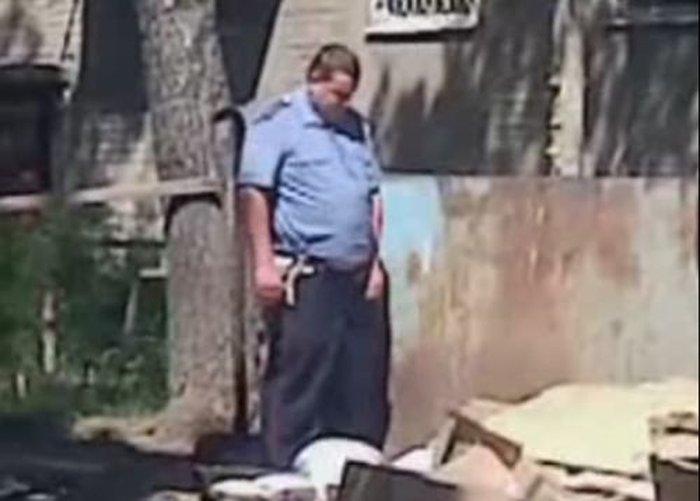 Прокуратура ищет пьяного гаишника из видеоролика (видео)