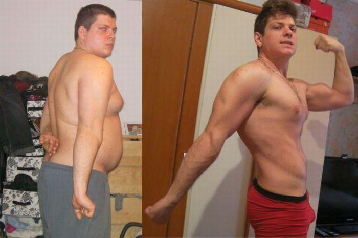 Невероятное похудение (16 фото)