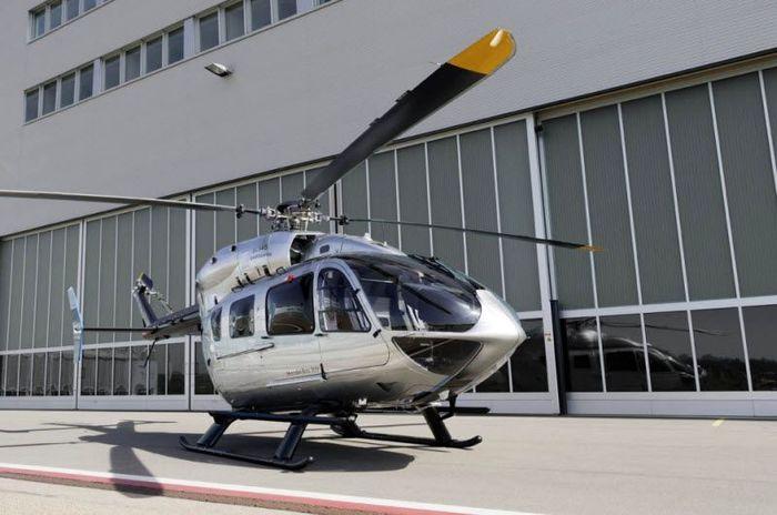 Вертолет от Mercedes-Benz и Eurocopter (16 фото)