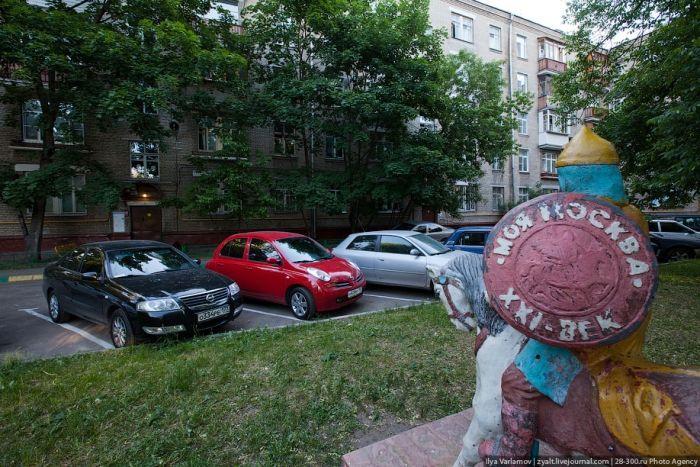 Где припарковать машину? (14 фото)