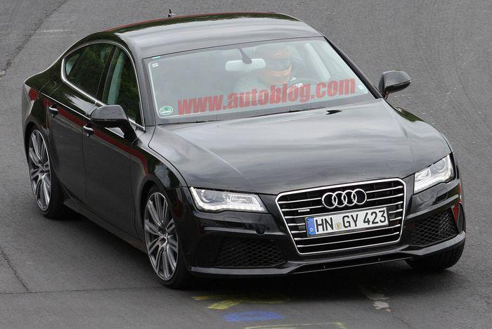 Новая Audi S7 (8 фото)