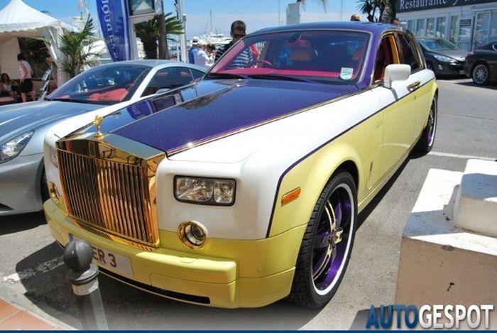 Тюнинг Rolls-Royce по-цыгански (4 фото)