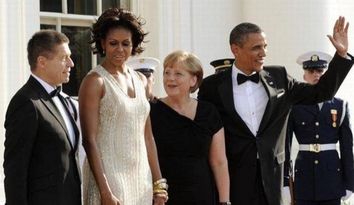 Мишель Обама очень понравилась Ангеле Меркель (7 фото)