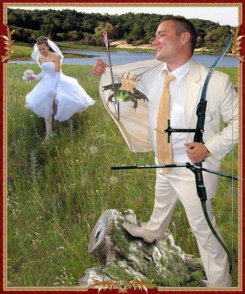 Свадебные фотографии после фотошопа (16 фото)