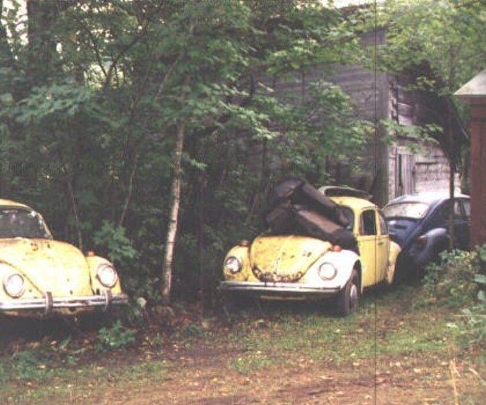Золотой металлолом из гаража старика Миллера (19 фото)
