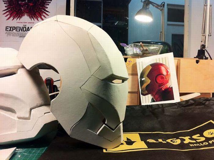 пепакура железный человек марк 42 скачать шлем