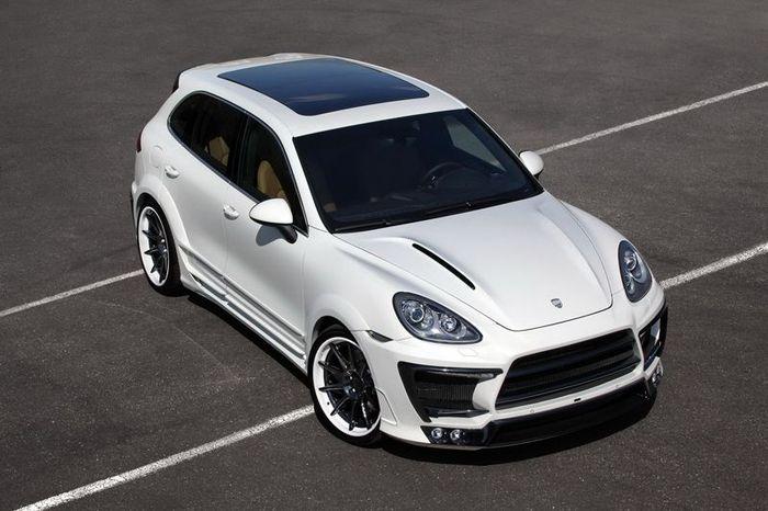Porsche Cayenne II White Pepper от LUMMA Design (13 фото)