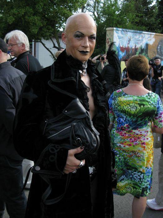 Готический фестиваль Wave-Gotik-Treffen (46 фото)