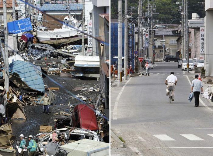 Япония – три месяца после катастрофы (29 фото)