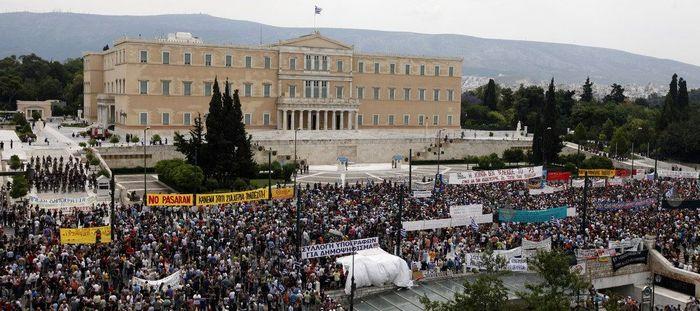 Протесты в Греции (35 фото)