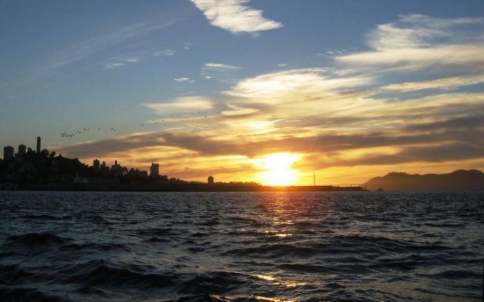 Красивые закаты (19 фото)