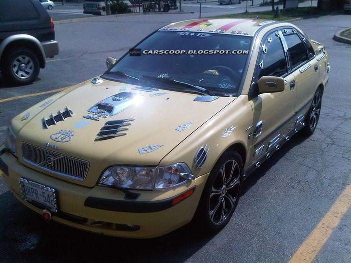 Американский тюнинг для шведского авто (6 фото)