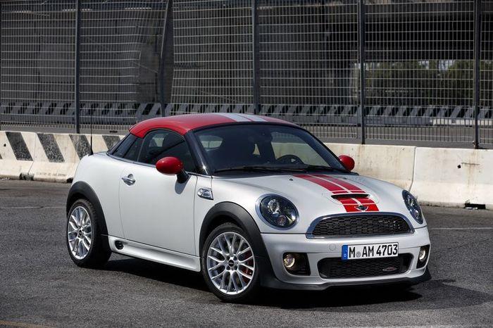 Официальная информация о новом MINI Coupe (67 фото)