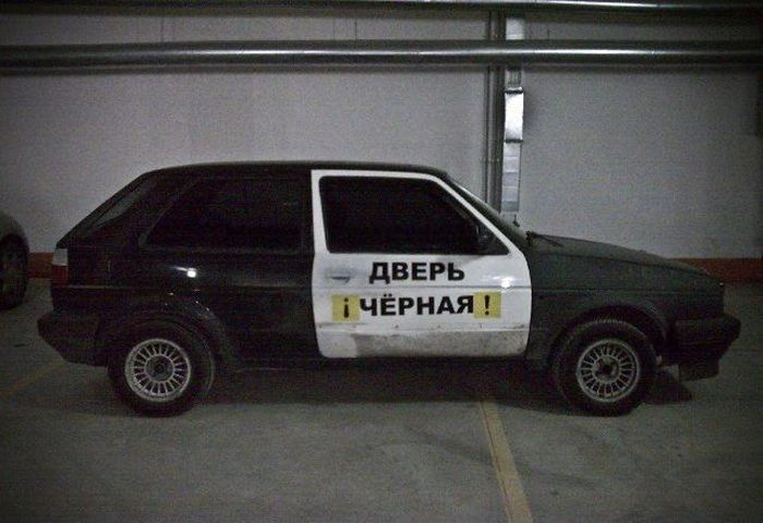 Прикольные надписи на машинах (28 фото)