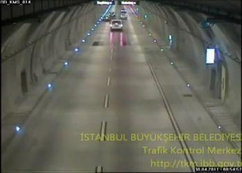 Авария в тоннеле Стамбула