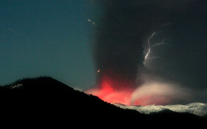 Вулканический пепел (20 фото)