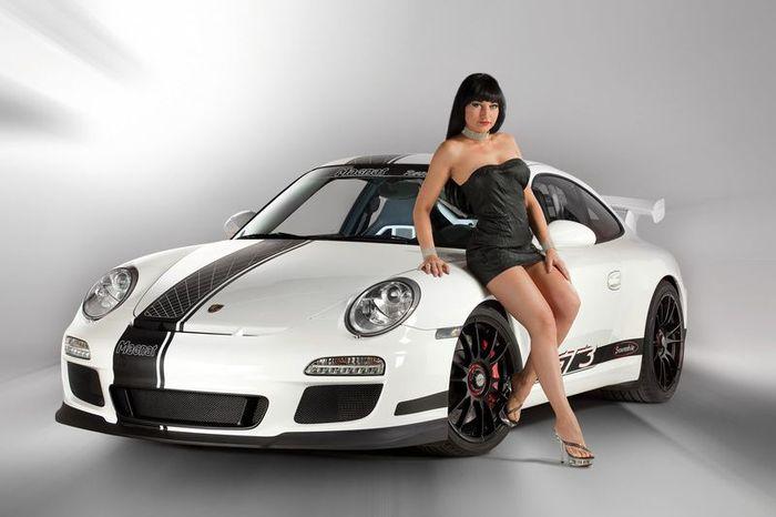 Porsche 911 GT3 Snowmobile от ателье Magnat (14 фото)