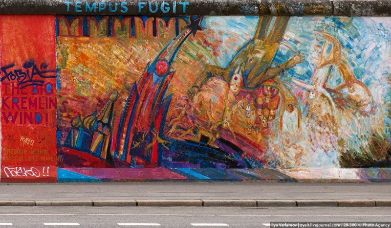 Берлинский стрит-арт (42 фото)