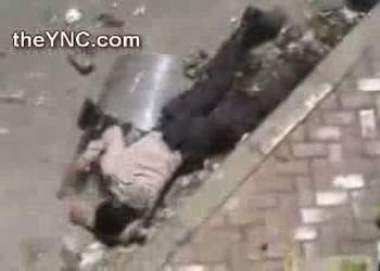 Массовое нападение на полицейских