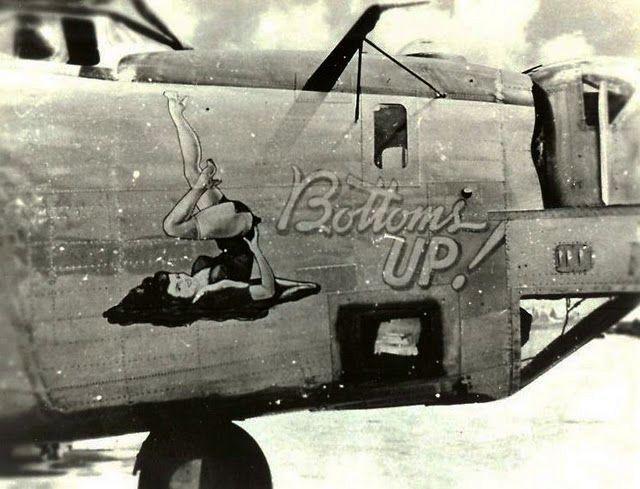 Пин-ап на самолетах  (14 фото)