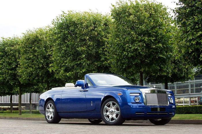 Шоу-кар Rolls-Royce Phantom Drophead Coupe (7 фото)