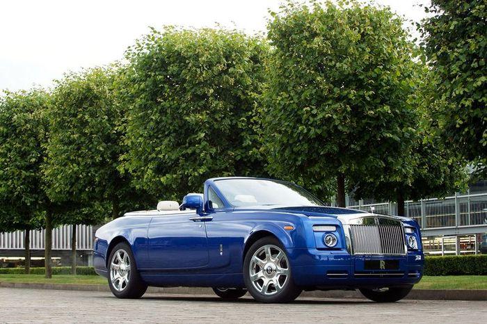 Шоу-кар Rolls-Royce Phantom Drophead Coupe (7 фото)