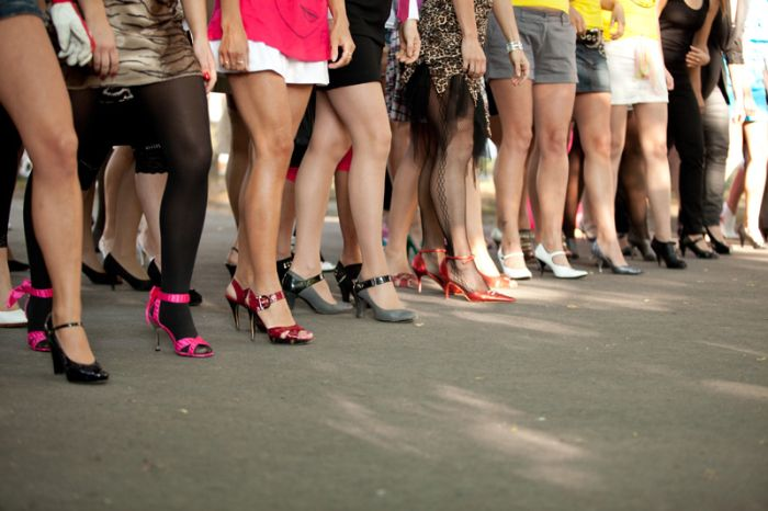 Забег на каблуках в Таллине (40 фото)