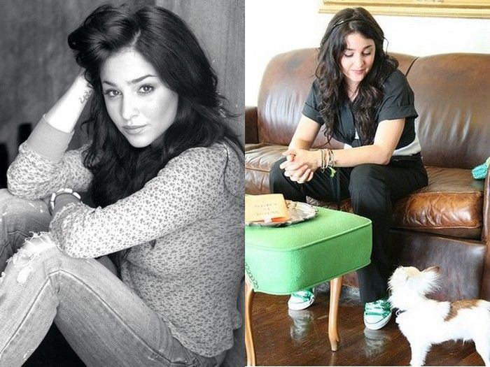 Угадай известную актрису (2 фото)