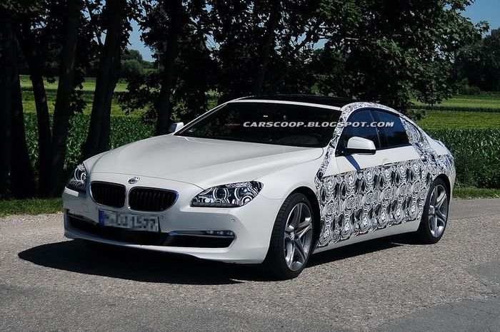 Шпионские фото новой четырехдверной BMW 6-Series (5 фото)
