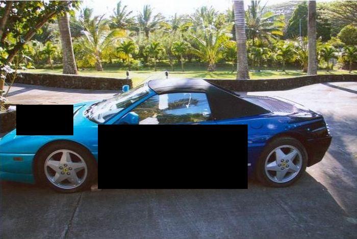 Ferrari 348 Spyder с аэрографией за 100.000$ на аукционе (5 фото)