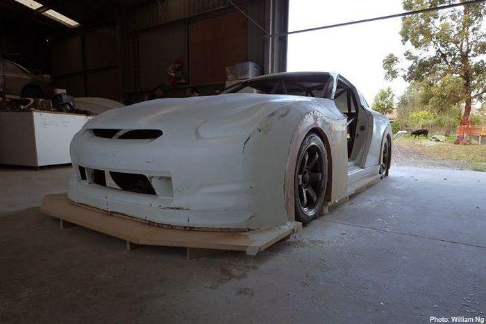 Проект: R35 GT-R из карбона, 1000 л.с. (20 фото)