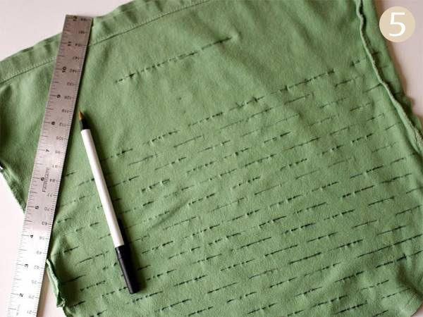 Авоська из футболки (9 фото)