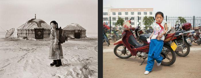 Монголия. Прошлое и настоящее (14 фото)
