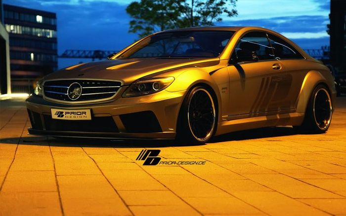 Mercedes-Benz CL W216 в тюнинге от Prior Design (20 фото)