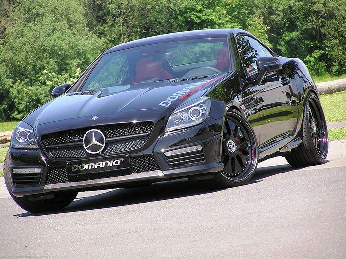 Ателье Domanig прокачали Mercedes-Benz SLK 55 AMG (10 фото)