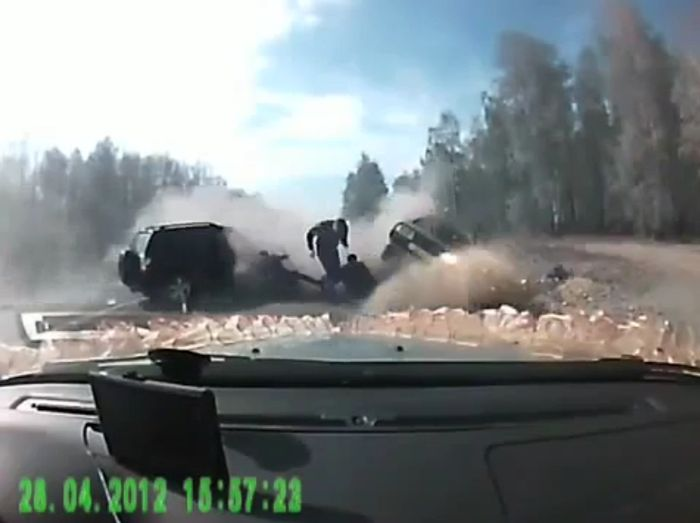 Авария дня часть 592 (фото+видео)