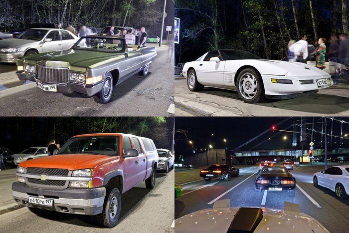 Встреча любителей Американских Автомобилей (26 фото)