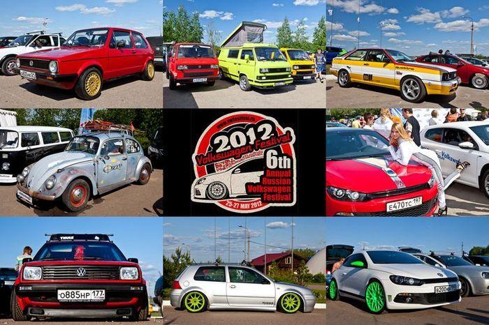 VW Festival 2012. 6-й ежегодный Фольсваген фестиваль (61 фото)