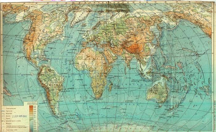 Секреты карты мира (11 фото)
