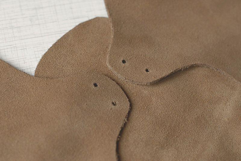 Как сделать обувь из кожи своими руками