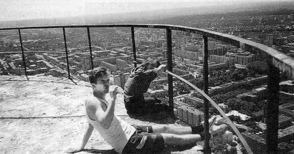 Самое высокое заброшенное сооружение в России Мастерок